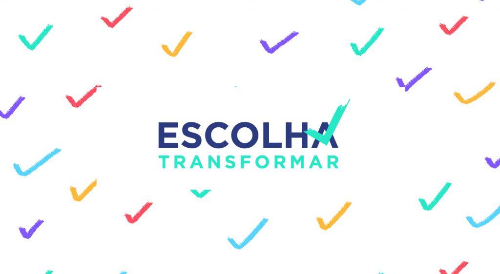 Logo da campanha Escolha Transformar